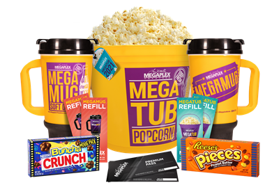 2021 MegaTub Movie Package for two